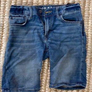 H&M super soft denim boy shorts 7/8